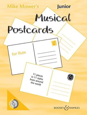 Junior Musical Postcards for Flute Mike Mower's laflutedepan