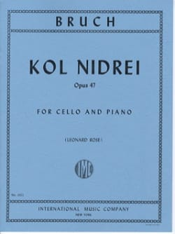 Max Bruch - Kol Nidrei - Sheet Music - di-arezzo.co.uk
