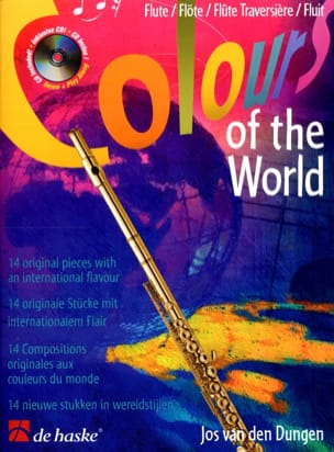 Jos van den Dungen - Colors of the world - Flute - Sheet Music - di-arezzo.co.uk