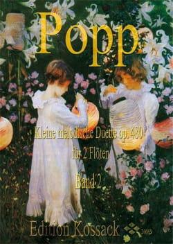Kleine Melodische Duette Opus 480 Band 2 Wilhelm Popp laflutedepan