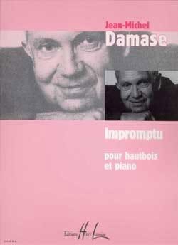 Impromptu Jean-Michel Damase Partition Hautbois - laflutedepan