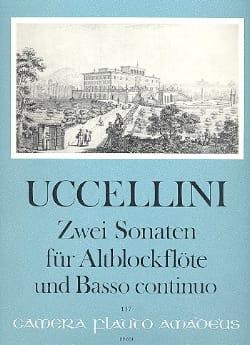 2 Sonaten - Altblockflote u. Bc - Marco Uccellini - laflutedepan.com