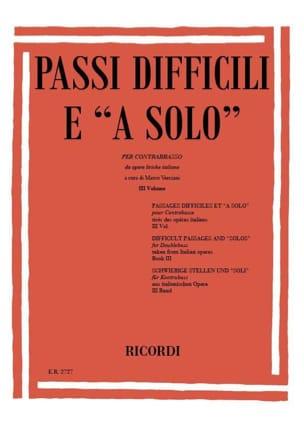 Marco Verciani - Passi difficili e A Solo – Volume 3 - Partition - di-arezzo.fr