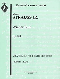 Wiener Blut, Waltz - Set of Parts - Johann Strauss - laflutedepan.com