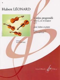Hubert Léonard - Solo C en ré majeur, op. 62 - Partition - di-arezzo.fr