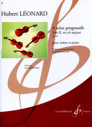 Hubert Léonard - Solo E in B flat major op. 62 - Sheet Music - di-arezzo.co.uk
