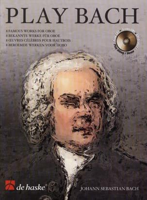 BACH - Play Bach - Hautbois - Partition - di-arezzo.fr