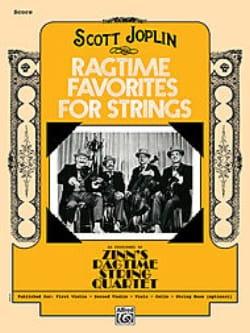 Scott Joplin - Ragtime Favorites for Strings - Sheet Music - di-arezzo.co.uk