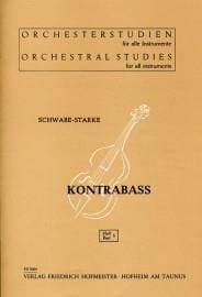 Schwabe-Starke - Orchesterstudien - Heft 5 - Kontrabass - Sheet Music - di-arezzo.com