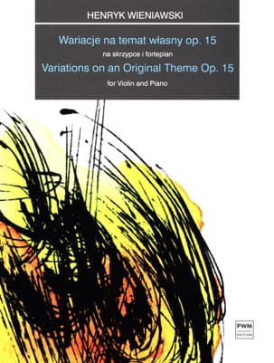 WIENIAWSKI - Variations on an Original Theme Op 15 - Sheet Music - di-arezzo.co.uk