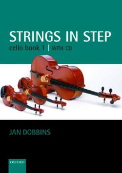 Strings in step, book 1 - Cello Jan Dobbins Partition laflutedepan