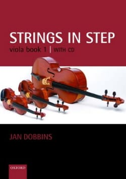 Jan Dobbins - Strings in step, book 1 - Viola - Partition - di-arezzo.fr