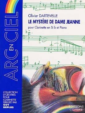 Le mystère de Dame Jeanne Olivier Dartevelle Partition laflutedepan