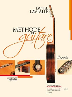Daniel Lavialle - Guitar method - 1st year - Sheet Music - di-arezzo.co.uk
