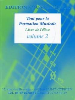 AB - Tout pour la formation musicale,Volume 2 - Partition - di-arezzo.fr