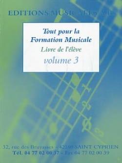 - Everything for music training Volume 3 - Sheet Music - di-arezzo.co.uk