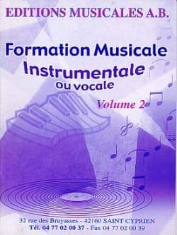 AB - FM instrumental o vocal, Volumen 2 - Partitura - di-arezzo.es
