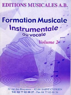 AB - Instrumental or vocal FM, Volume 2 - Sheet Music - di-arezzo.co.uk