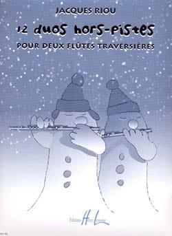 12 Duos hors-pistes - Jacques Riou - Partition - laflutedepan.com