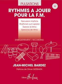 Jean-Michel Bardez - Rhythms to play for FM 2 CD - Sheet Music - di-arezzo.co.uk