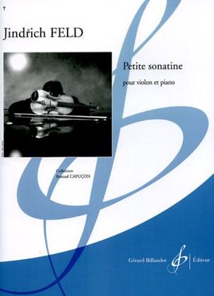 Petite sonatine Jindrich Feld Partition Violon - laflutedepan