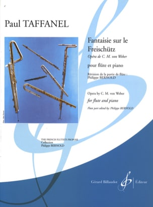 Paul Taffanel - Fantasy on the Freischütz - Sheet Music - di-arezzo.co.uk