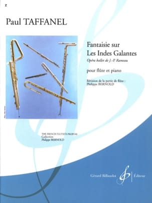 Paul Taffanel - Fantasy on the gallant Indies - Sheet Music - di-arezzo.co.uk