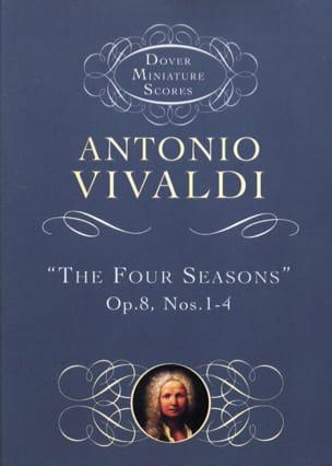VIVALDI - The Four Seasons Op. 8 N ° 1-4 - Partition - di-arezzo.com