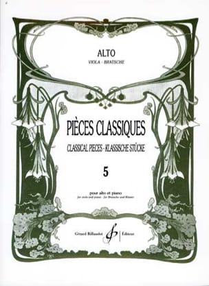 Frédéric Lainé - Classic Parts Volume 5 - Sheet Music - di-arezzo.com