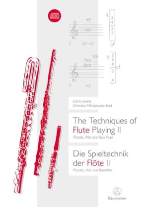 Carin Levine - The Techniques of Flute Playing Volume 2 - Sheet Music - di-arezzo.com