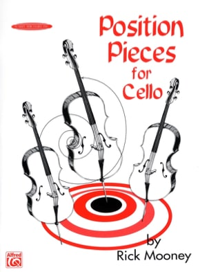Rick Mooney - Position Pieces For Cello Vol 1 - Sheet Music - di-arezzo.co.uk