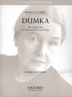 Rebecca Clarke - Dumka - Score + Parts - Partition - di-arezzo.fr
