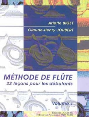 BIGET - JOUBERT - Méthode de Flûte Volume 1 - Partitura - di-arezzo.it