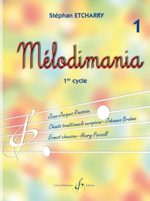 Stephan Etcharry - Melodimania Volume 1 - Sheet Music - di-arezzo.com