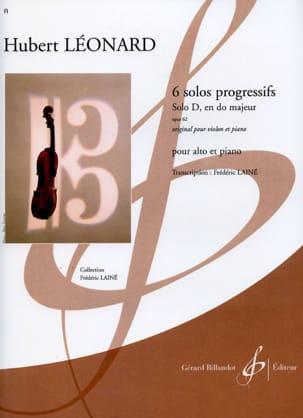 Hubert Léonard - Solo D in C major op. 62 - Sheet Music - di-arezzo.co.uk