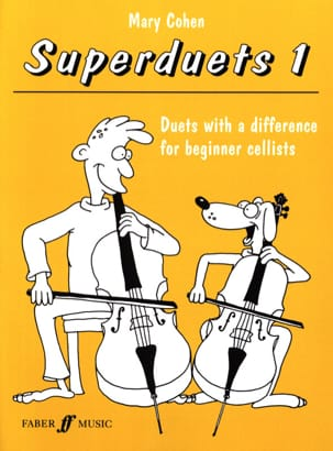 Mary Cohen - Superduets Book 1 - 2 Cellos - Sheet Music - di-arezzo.com