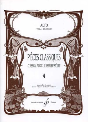 Frédéric Lainé - Volume 4 Classic Parts - Sheet Music - di-arezzo.co.uk