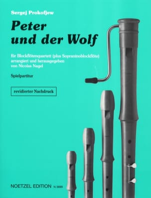 Serge Prokofiev - Peter and the Wolf - Recorder Set - Sheet Music - di-arezzo.co.uk