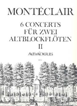 Six Concerts für 2 Altblockflöten - Bd. 2 laflutedepan