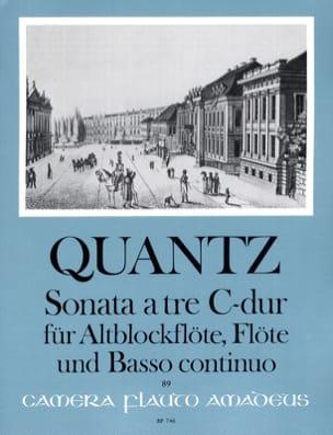 Sonata a tre C-Dur – Altblockflöte Flöte Bc - laflutedepan.com
