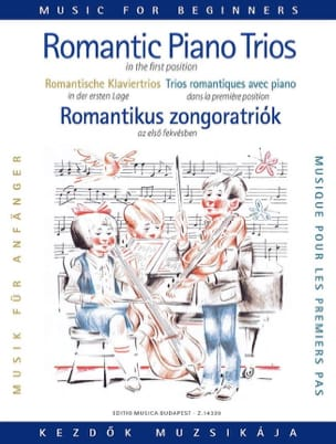 Pejtsik Arpad / Zempleni Laszlo - Romantic Piano Trios For Beginners - Partition - di-arezzo.fr