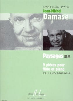 Jean-Michel Damase - landscapes - Sheet Music - di-arezzo.co.uk