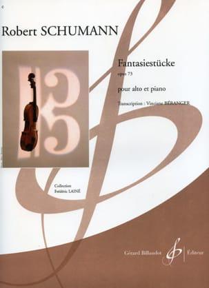 Robert Schumann - Fantasiestücke op. 73 - Partition - di-arezzo.fr