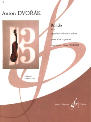 DVORAK - Rondo op. 94 - Sheet Music - di-arezzo.co.uk