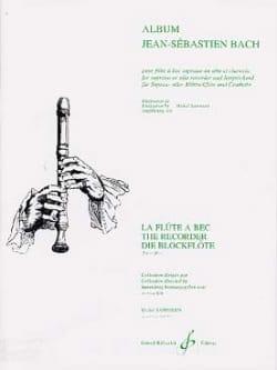 Album Jean-Sebastien Bach BACH Partition Flûte à bec - laflutedepan