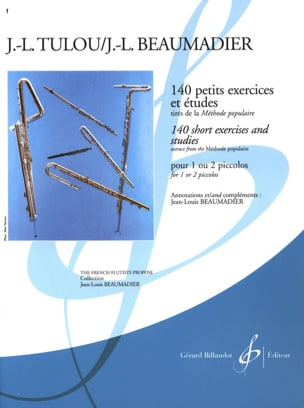 Tulou Jean-Louis / Beaumadier Jean-Louis - 140 Small exercises and studies - Sheet Music - di-arezzo.co.uk