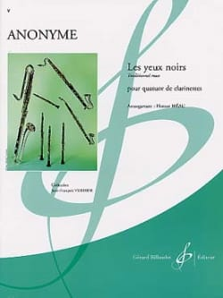 Black eyes - clarinet quartet - Sheet Music - di-arezzo.com