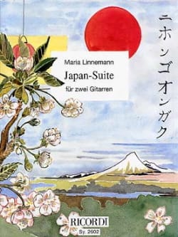 Japan Suite Maria Linnemann Partition Guitare - laflutedepan