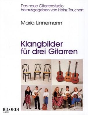 Maria Linnemann - Klangbilder für 3 Gitarren - Partition - di-arezzo.fr