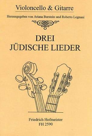 - 3 Judische Lieder - Partition - di-arezzo.fr